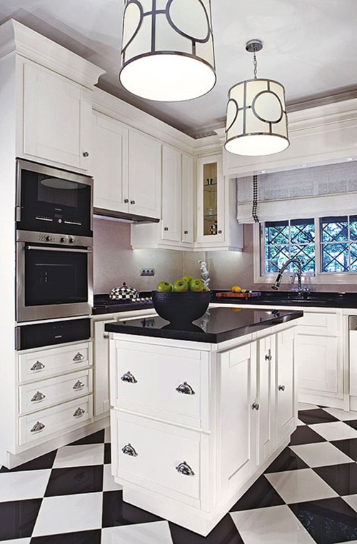 Useful tricks to maximize the space of your small kitchen Very small space kitchen design