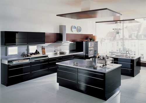 Contemporary Black Kitchen Design Ideas ~ Wonderful ultra modern kitchen design ideas interior