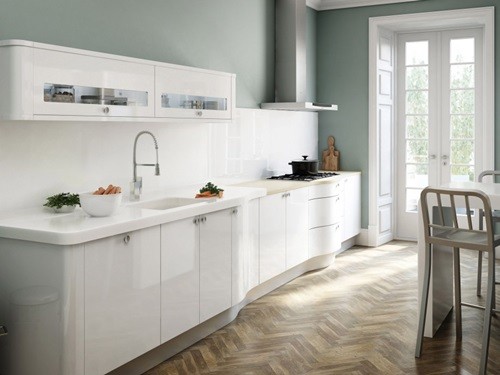 3 Great Ideas for Decorating Kitchens with White Cabinets