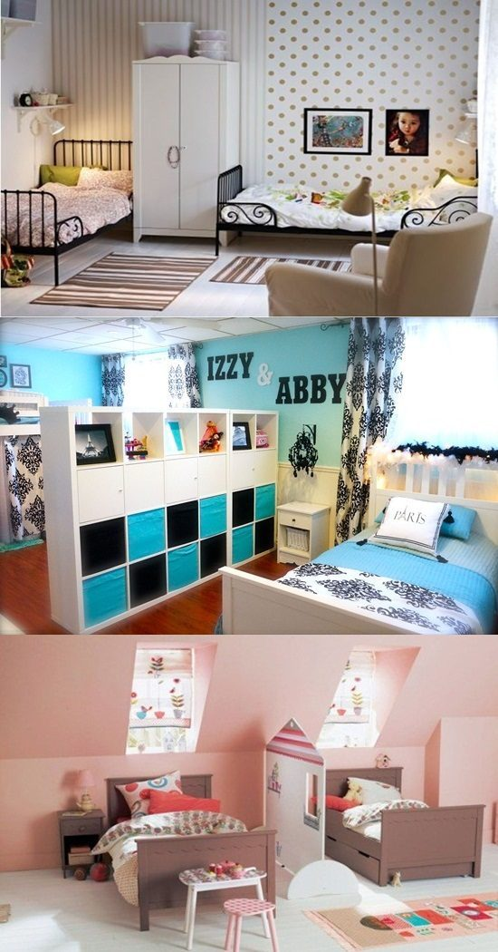 4 Creative Shared Kids Room Design Ideas to Give Them Privacy