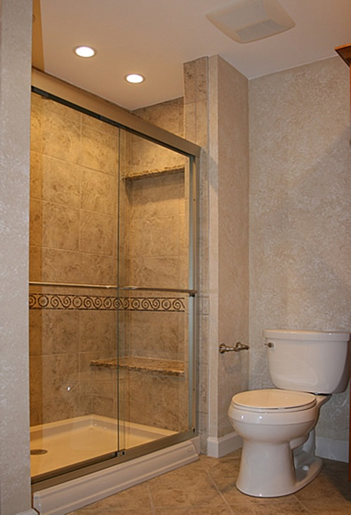 4 Great Ideas for Remodeling Small Bathrooms - Interior design on restroom design, foyer design, staircase design, bathtub design, washroom design, bedroom design, door design, exterior design, room design, nursery design, pantry design, small bath design, interior design, kitchen design, shower design, basement design, garage design, closet design, tile design, toilet design,