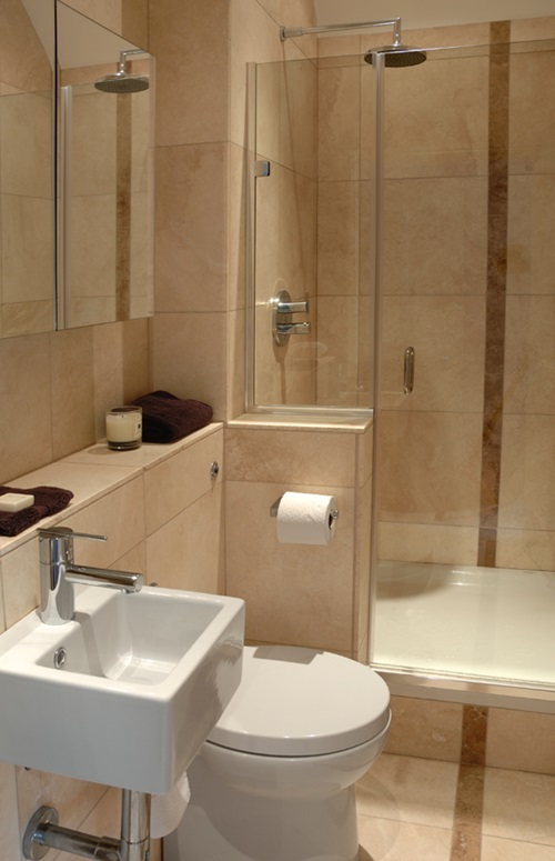 Small Bathrooms Design Ideas small bathroom designs install a shower head in corner with wood planks on the floor with a drainage have a small wet room 4 Great Ideas For Remodeling Small Bathrooms
