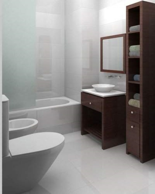 4 great ideas for remodeling small bathrooms interior design for Simple toilet design