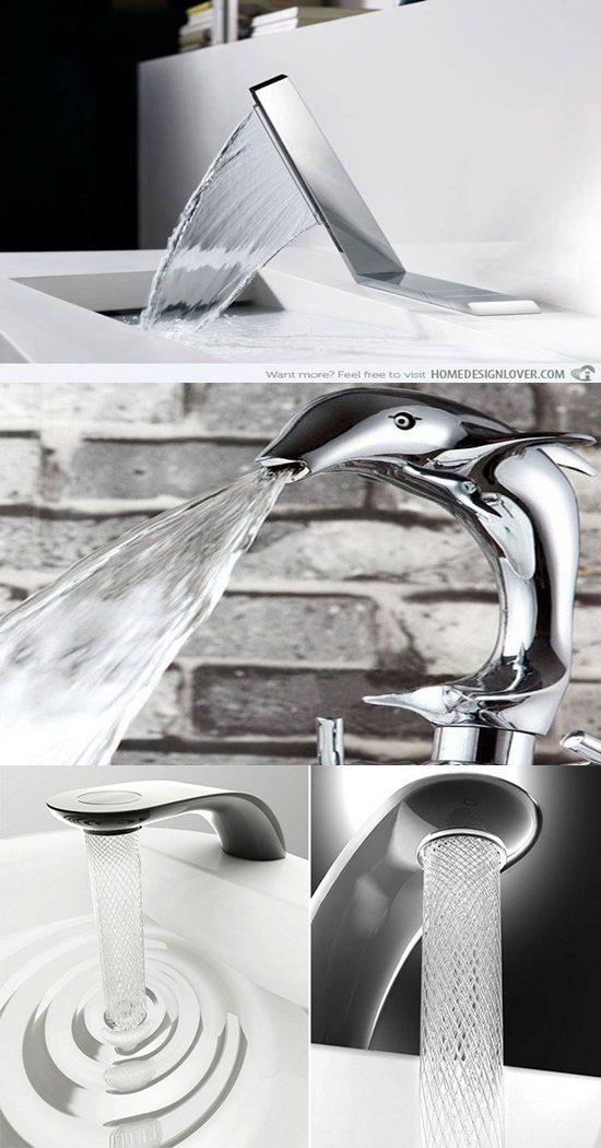 5 Fantastic Ultramodern Kitchen Faucet Designs
