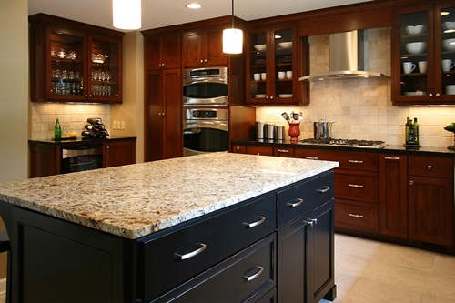 5 great solutions to the dilemma of remodeling your small for Budget kitchen cabinets ltd