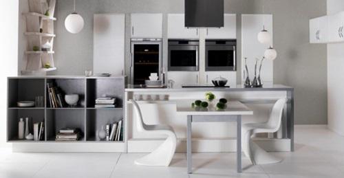 5 Trendy Ideas for Decorating Modern White Kitchens