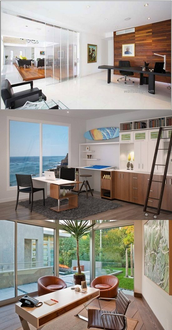 6 Breathtaking Ultramodern Home Office Design Ideas