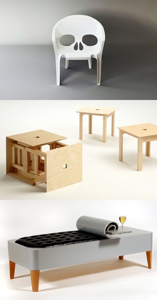 6 Funny and Amusing Seating Furniture Design Ideas