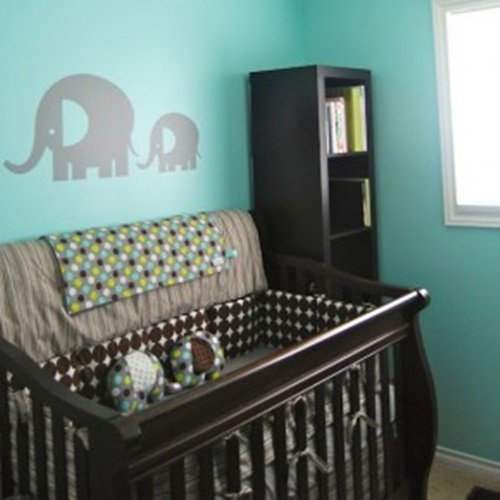 7 Splendid Ideas To Create A Blue Elephant Themed Nursery