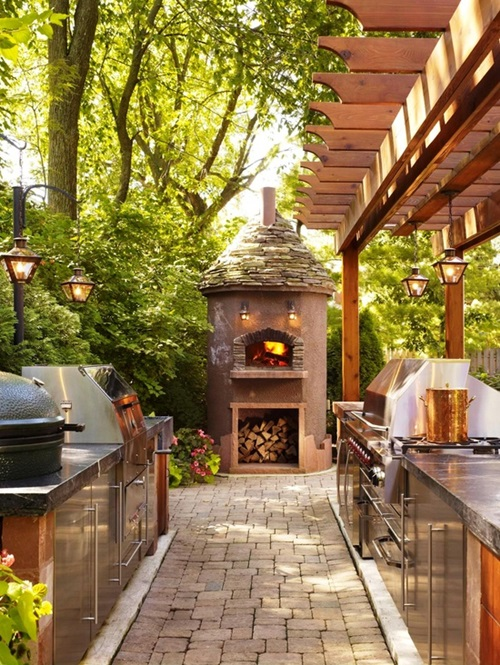 Affordable Ideas For Amazing Outdoor Kitchens Interior