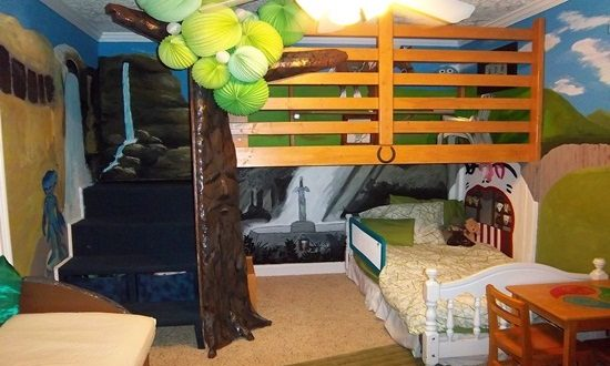Amazing Ideas to Decorate Kids' Bedrooms with Different Themes