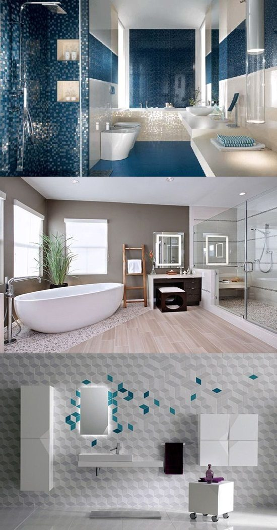 Breathtaking and Cool Blue Bathroom Design Ideas