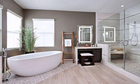 Breathtaking and Cool Blue Bathroom Design Ideas