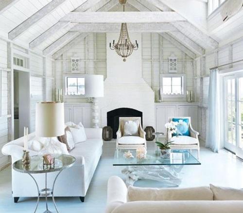 Breezy Beach Living Room Decorating Ideas Interior Design