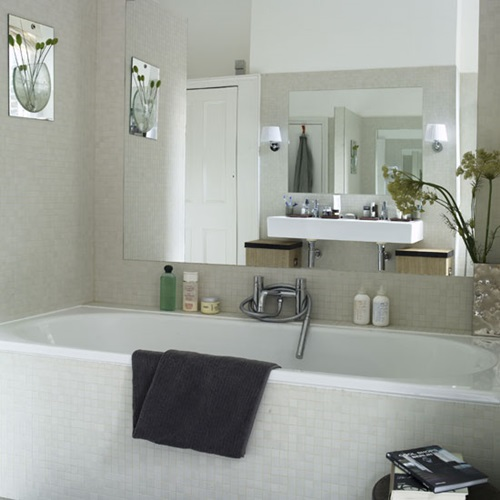 Bathroom Design Ideas For Small Bathrooms Uk ~ Brilliant big ideas for small bathrooms interior design