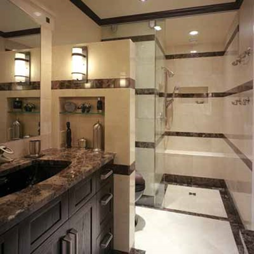 Brilliant big ideas for small bathrooms interior design for Small bathroom remodel plans