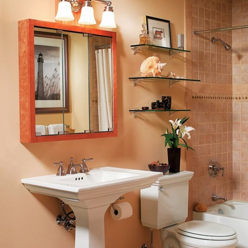 Brilliant Big Ideas For Small Bathrooms Interior Design