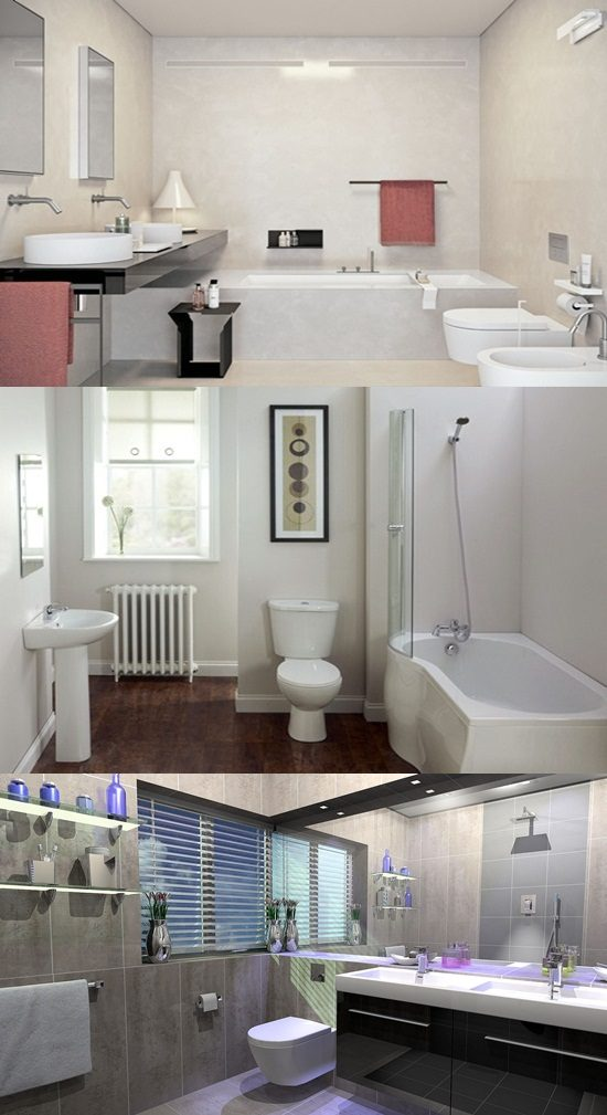 Bathroom Interior Design Tips And Ideas ~ Brilliant big ideas for small bathrooms interior design