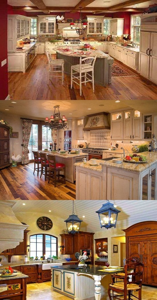 Kitchen Interior Design Ideas Classic: Classic French Kitchen Design Ideas On Budget