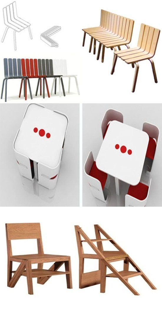 Cool Foldable and Transformable Seating Furniture Designs