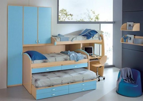Small Kids Room cute beds for kids' small rooms - interior design