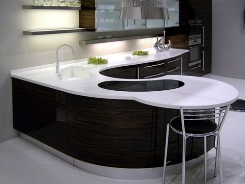 Elegant Black and White Worktops for Elegant KitchensElegant Black and White Worktops for Elegant Kitchens
