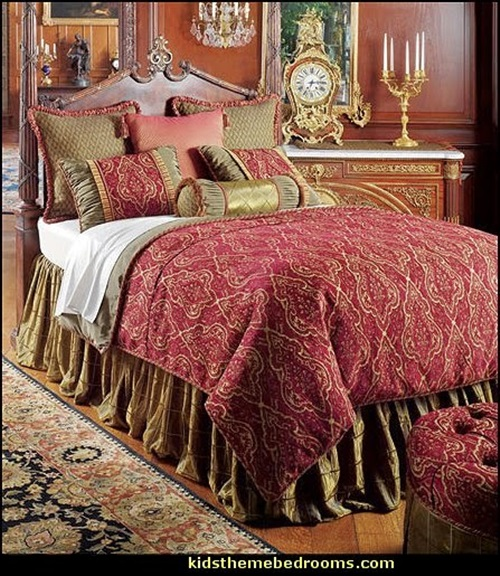 Travel Inspired Bedroom Designs Are Sophisticated And Elegant: Elegant French Boudoir-Themed Bedroom Style