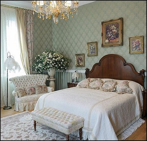 Elegant French Boudoir-Themed Bedroom Style
