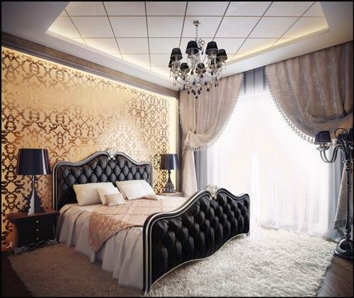 ... Elegant French Boudoir Themed Bedroom Style ...