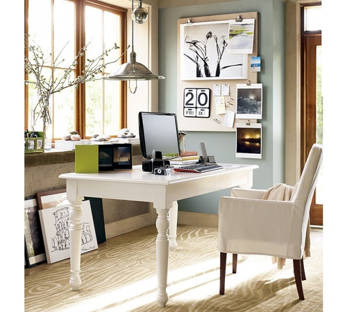Home Desk Design Ideas: Fabulous Home Office Desk Designs For Living Rooms