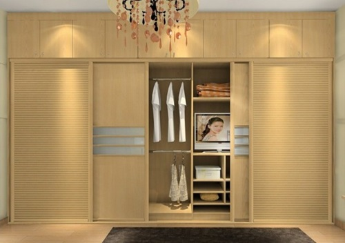 Gorgeous sliding doors wardrobes for contemporary bedrooms for 4 door wardrobe interior designs
