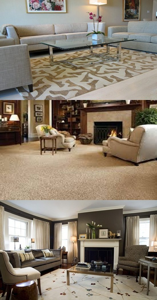How To Choose A Perfect Living Room Carpet Interior Design