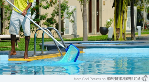 how to clean and maintain your outdoor swimming pool interior design