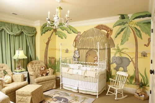 How to Decorate a Room with Jungle Theme
