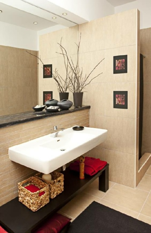 Exceptional How To Use Framed Art Prints In Decorating Your Bathroom ...