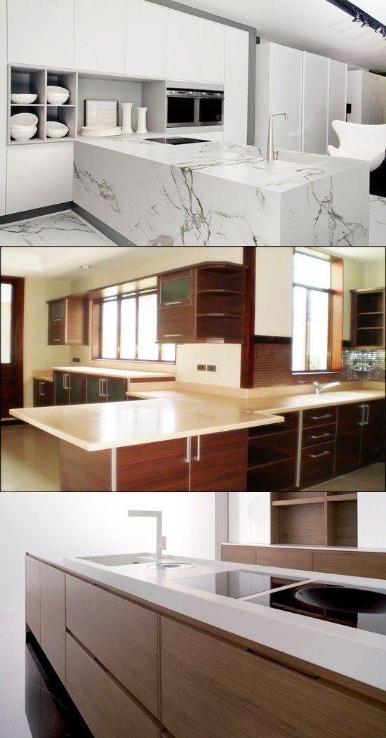 Kitchen Countertop Options 2015 : Innovative Kitchen Countertop Materials and Designs - Interior design