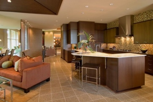Interesting floor design ideas for modern homes interior for Cost to level floor in house