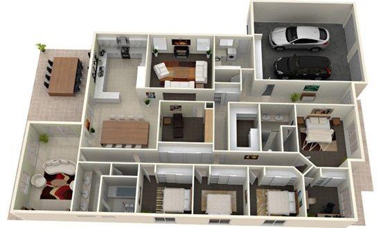 Interesting Floor Design Ideas for Modern Homes