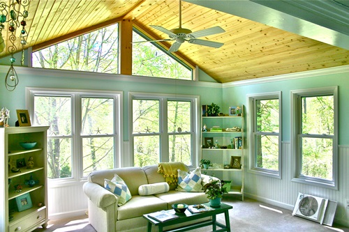 Interesting sunroom designs for a full year enjoyment for Sunroom interior designs