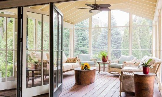 Interesting Sunroom Designs for a Full Year Enjoyment