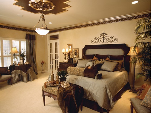 Luxurious dressing table designs for your traditional - Traditional bedroom design ideas ...