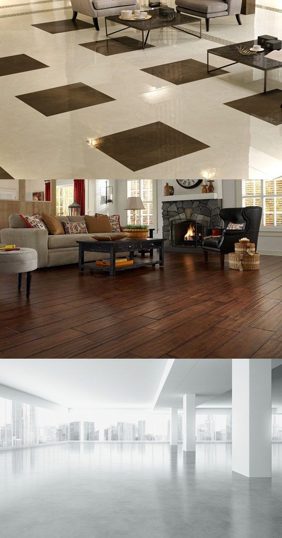 Luxurious flooring options for your modern home interior for House flooring materials