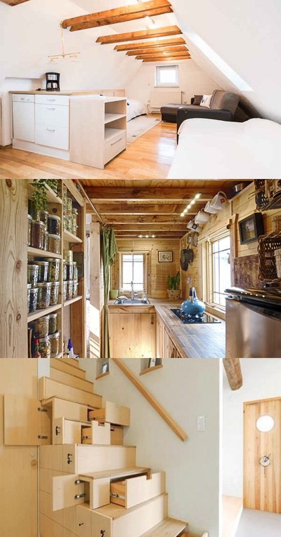 Smart ideas to provide more space in small homes for Smart small home designs