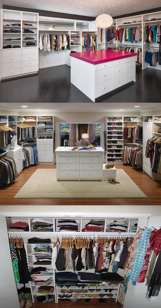 Ideas Of Functional And Practical Walk In Closet For Home: Smart And Practical Walk-in Closet Design Ideas