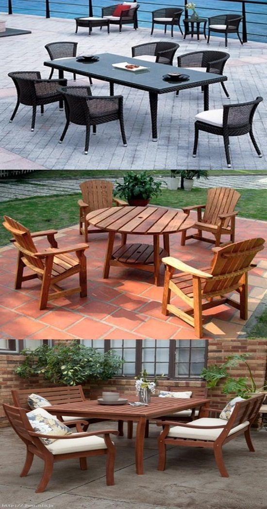 The Best Wood Material For Your Outdoor Furniture Is Here Interior Design