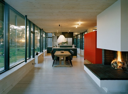 Wonderful Illuminating Glass Furniture