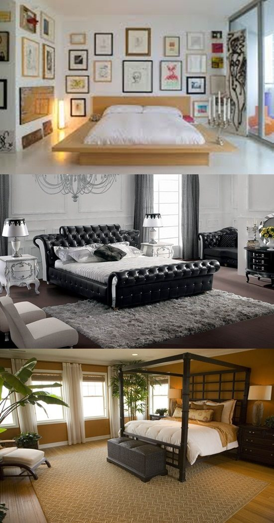 Bedroom Ideas Leather Bed 3 great ideas for styling bedrooms with leather beds - interior design