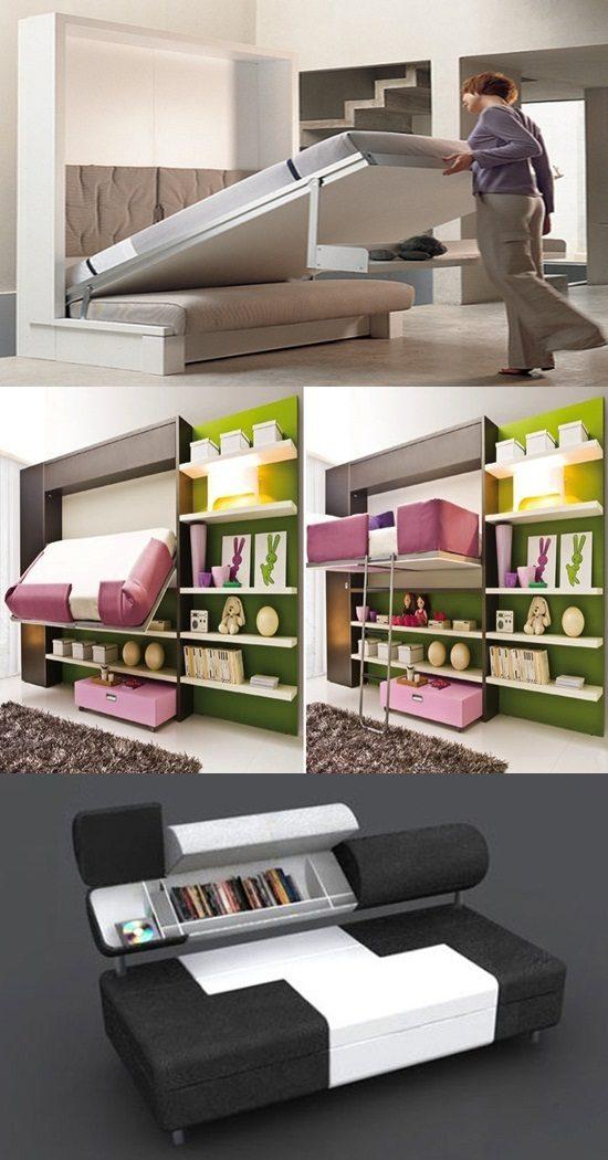 3 Great Multi purposed Furniture Ideas