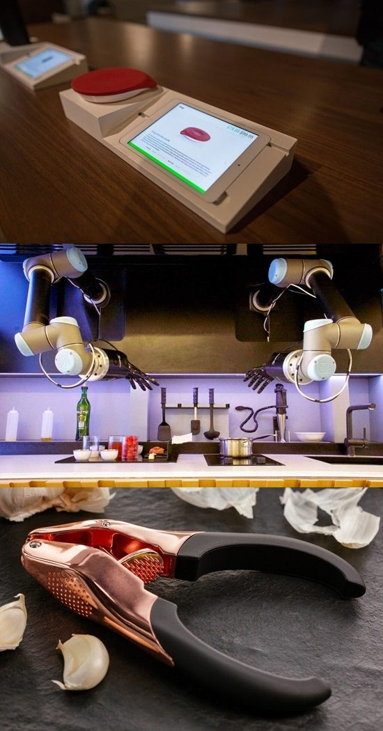 5 Futuristic Kitchen Assistants You Will Certainly Like