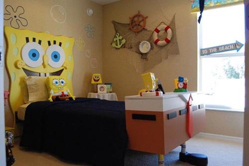 5 Steps to Remodel Your Kids Room Using Sponge Bob Theme